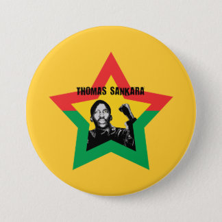 "Thomas Sankara ""Che"" Button"