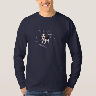 Thomas Tee - Mens Long Sleeve (navy)