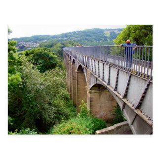 Thomas Telford's Aquaduct, Llangollen, Postcard