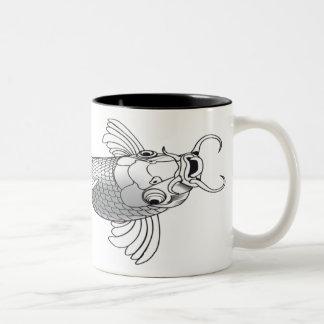 Thomas The Fisherman Two-Tone Coffee Mug