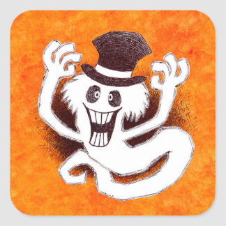Thomas the ghost sticker