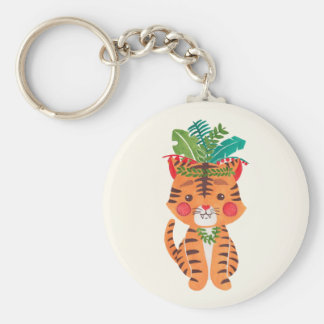 Thomas the Little Tiger Keychain