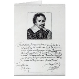 Thomas Wentworth, 1st Earl of Strafford Card