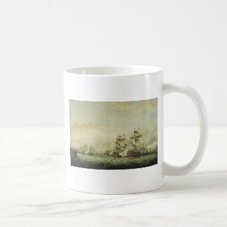 Thomas Whitcombe - The Battle of the Saints Classic White Coffee Mug