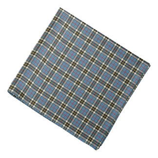 Thompson Clan Light Blue Formal Dress Tartan Bandana
