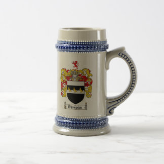 Thompson Coat of Arms Stein
