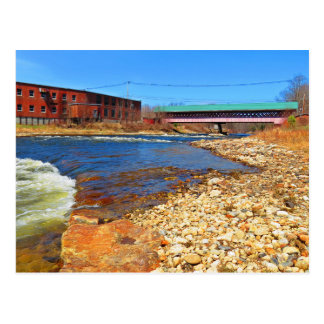 Thompson Covered Bridge Postcard