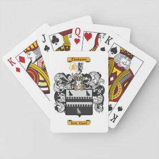 Thompson (English) Playing Cards