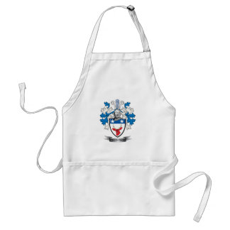 Thompson Family Crest Coat of Arms Standard Apron
