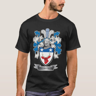 Thompson Family Crest Coat of Arms T-Shirt