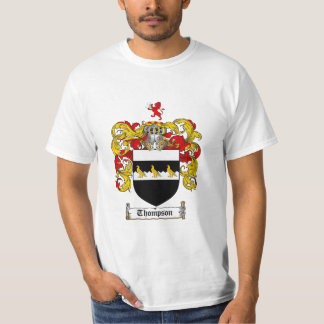 Thompson Family Crest - Thompson Coat of Arms T-Shirt