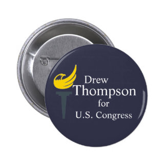 Thompson for Congress Button