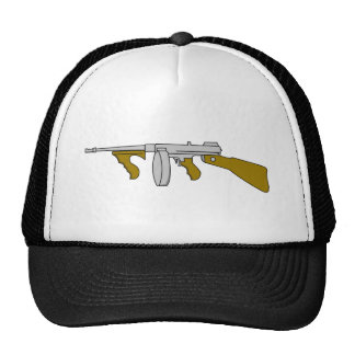 Thompson submachine gun trucker hat