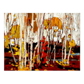 Thomson - Autumn Birches Postcard