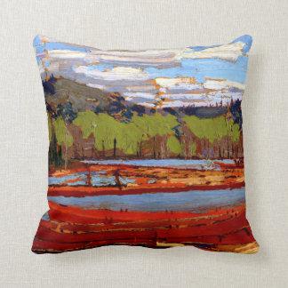 Thomson - Bateaux Throw Pillow