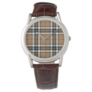 Thomson Camel Classic Brown Leather Watch