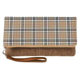 Thomson Camel Fold-Over Clutch