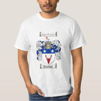 Thomson Family Crest - Thomson Coat of Arms T-Shirt