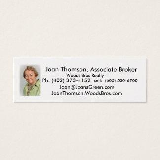Thomson.Joan, Joan Thomson, Associate Broker, W... Mini Business Card
