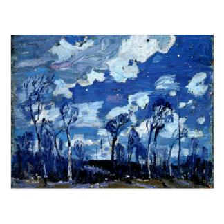 Thomson - Nocturne, The Birches Postcard