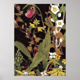 Thomson - Orchids, Algonquin Park Poster