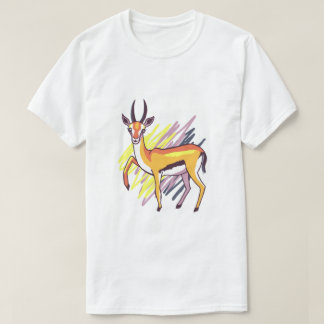 Thomson's Gazelle Fun Colourful Drawing Men Shirt