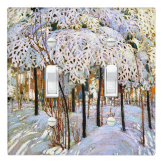 Thomson - Snow in October Light Switch Cover
