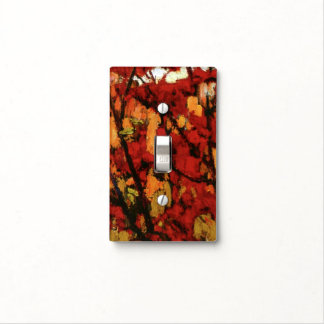 Thomson - Soft Maple in Autumn Light Switch Cover