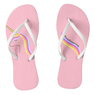 Thongs Sandals flips flops unicorn