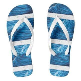 Thongs Wide Strap Flip Flops