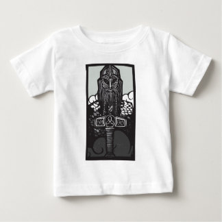 Thor and Mjolnir Baby T-Shirt