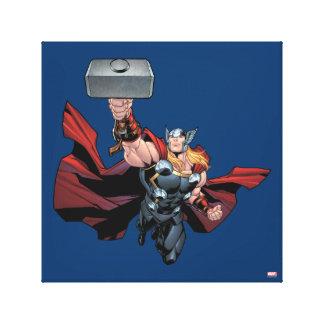 Thor Assemble Canvas Print