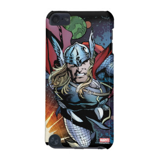 Thor Flying Through Space Comic Panel iPod Touch (5th Generation) Case