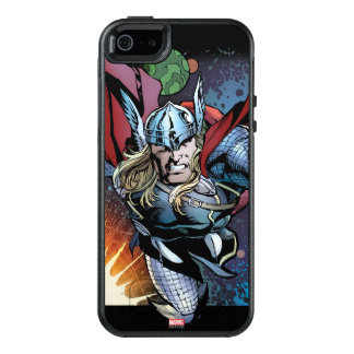 Thor Flying Through Space Comic Panel OtterBox iPhone 5/5s/SE Case