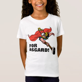 Thor Flying With Mjolnir Tshirt