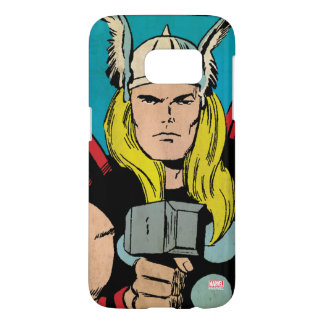 "Thor ""God of Thunder"" Comic Panel Samsung Galaxy S7 Case"