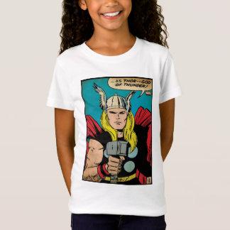"Thor ""God of Thunder"" Comic Panel T-Shirt"