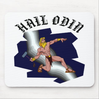 Thor Hail Odin Mouse Pad