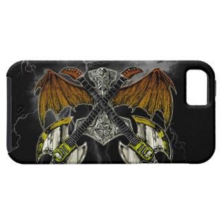 Thor Hammer of the Gods Guitars iPhone 5 Covers