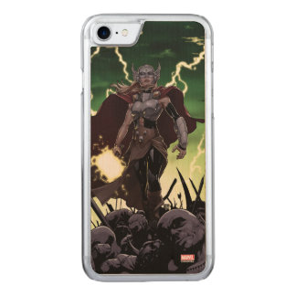 Thor Over Slain Enemies Carved iPhone 8/7 Case