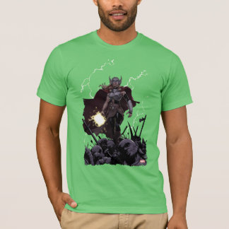 Thor Over Slain Enemies T-Shirt