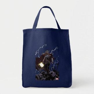 Thor Over Slain Enemies Tote Bag