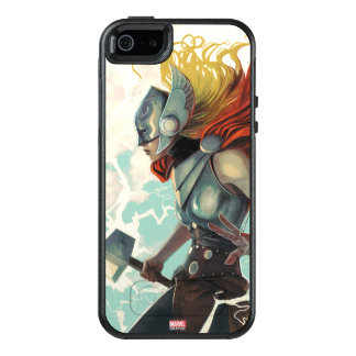 Thor Profile With Mjolnir OtterBox iPhone 5/5s/SE Case