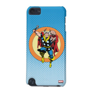 Thor Punch Attack Retro Graphic iPod Touch 5G Cover