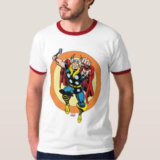 Thor Punch Attack Retro Graphic Tee Shirts