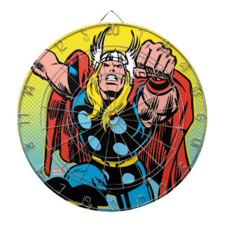 Thor Punching Attack Dartboard With Darts
