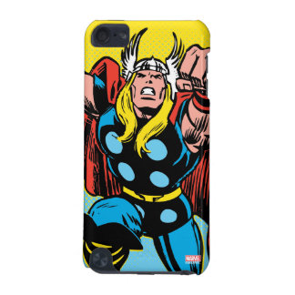 Thor Punching Attack iPod Touch (5th Generation) Case