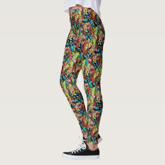 Thor Punching Attack Leggings
