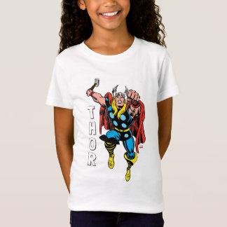 Thor Punching Attack Tee Shirts