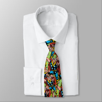 Thor Punching Attack Tie